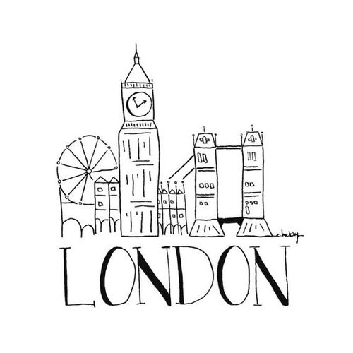 500x500 City Sketch London. Shared By Paula 9393 On We Heart It