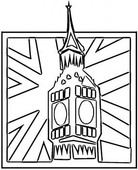 286x350 Big Ben With Union Jack Doctor Who Big Ben