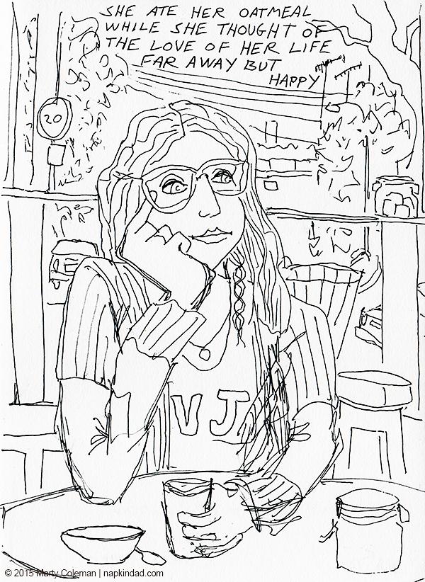 600x822 London Sketchbook Drawings