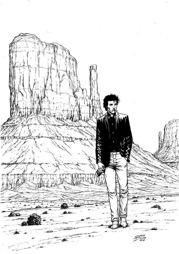 600x853 Steve Dillon Draws Preacher One More Time For London Super Comic