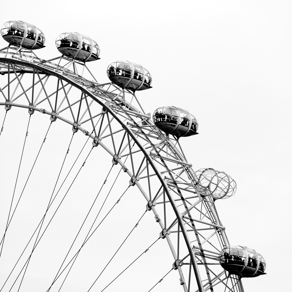 London Eye Drawing