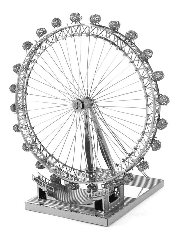 619x800 Metal Earth Iconx London Eye