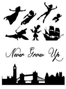 221x300 Peter Pan Wendy Tink London Skyline Silhouette Decor Plus Icing