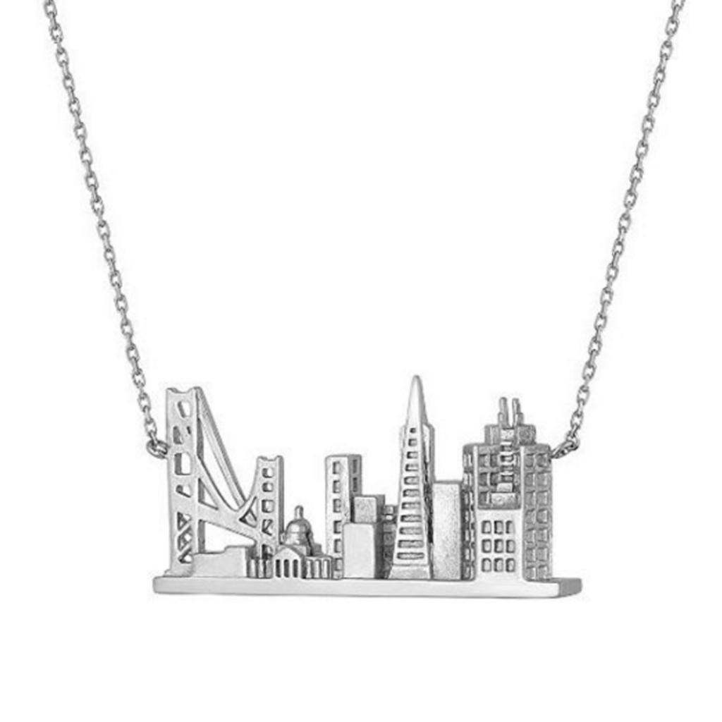 1024x1024 San Francisco Skyline Necklace