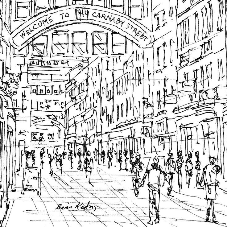 736x736 Carnaby Street London Original Drawings Draw