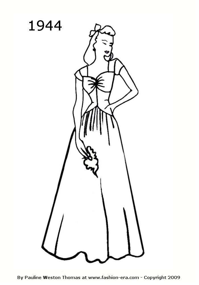 Long Dress Drawing