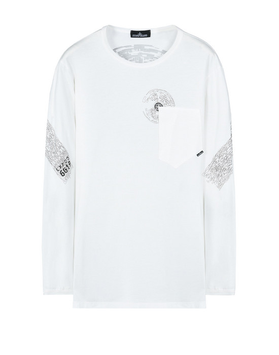 550x700 Stone Island Shadow Project Long Sleeve T Shirt Men