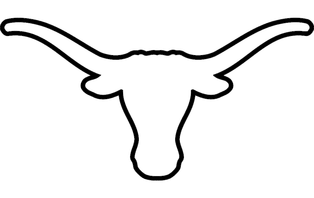 longhorn cattle drawing at getdrawings com free for personal use rh getdrawings com longhorn clipart black and white longhorn clipart free