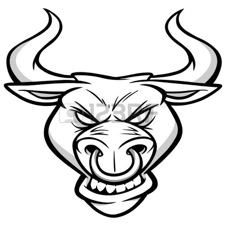 Longhorn Drawing