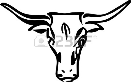 Longhorns Drawing