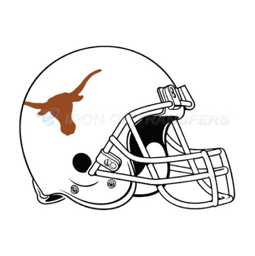 500x501 Texas Longhorns Personalized Iron On Transfers And Custom Iron