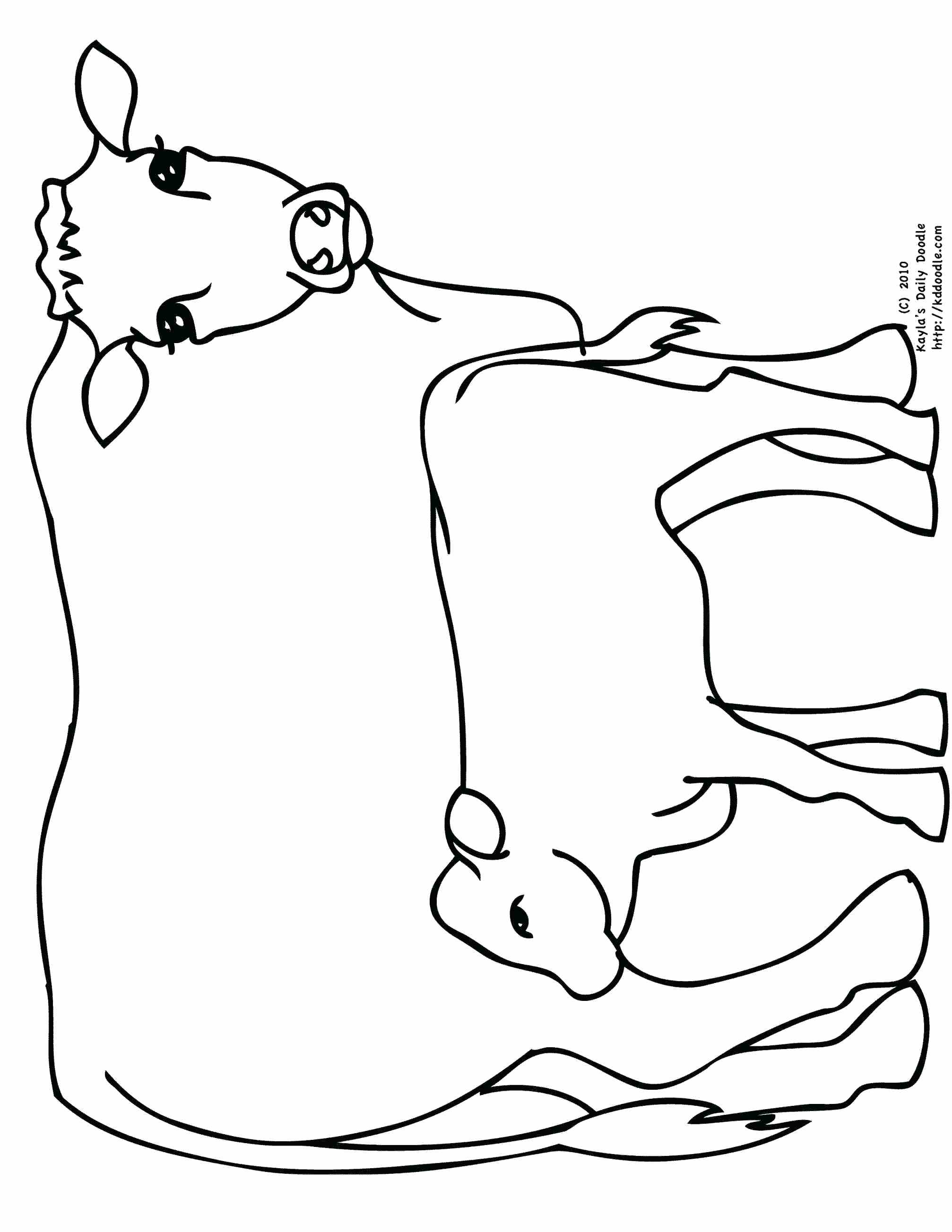 2014x2607 Coloring Texas Longhorns Coloring Pages Pig Cow Pictures To Color