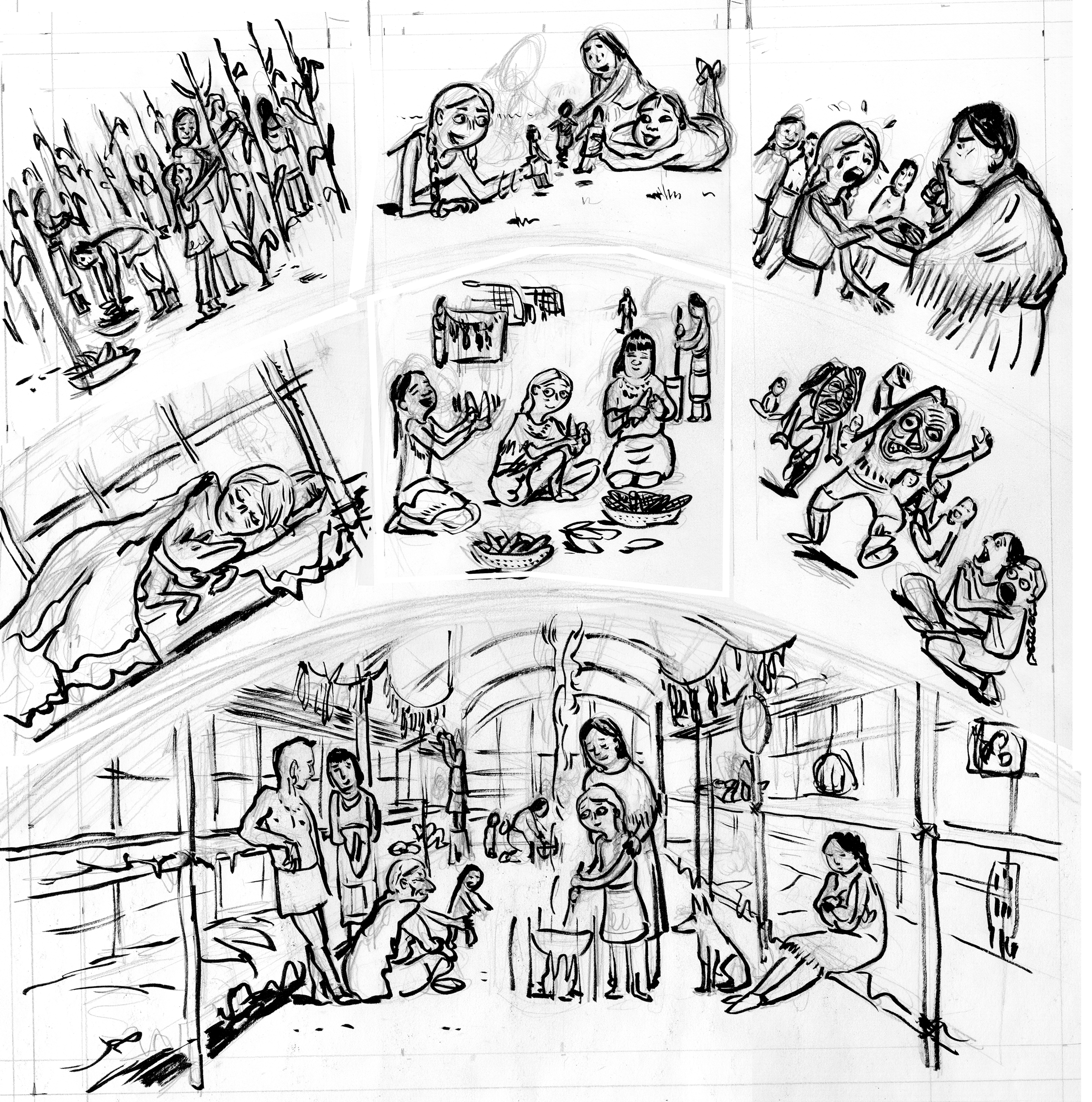 2250x2270 Coloring Pages Longhouse ~ The Ideas Of Coloring Page