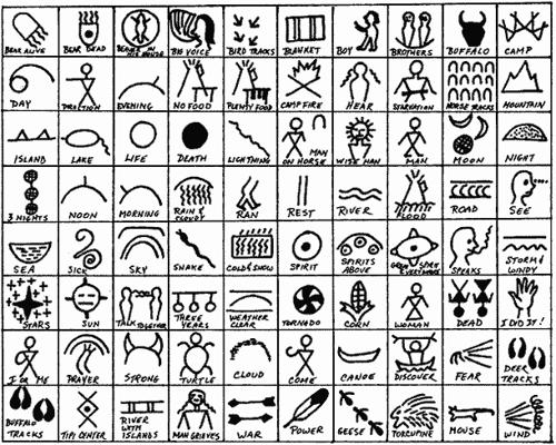 500x400 Native American Symbols Printables Native American