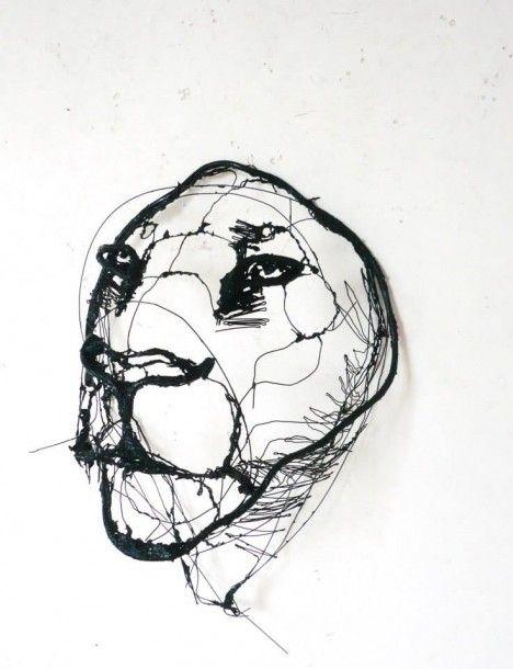 468x610 Wire Sketches 7 Wire Sketches