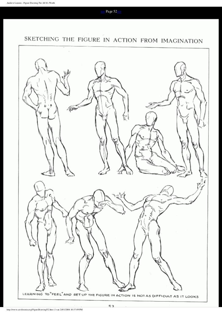 728x1031 Andrew Loomis Figure Drawingforallitsworth Corpo