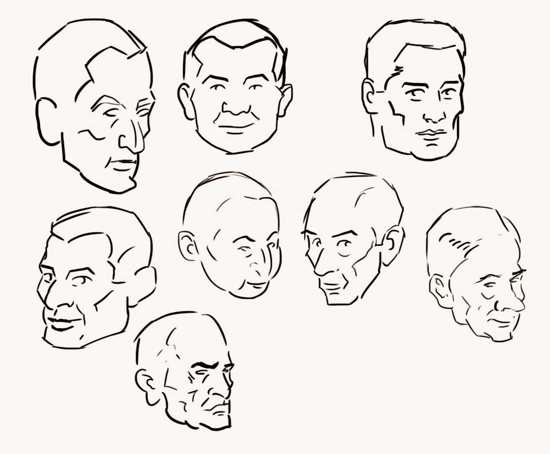 Loomis Head Drawing