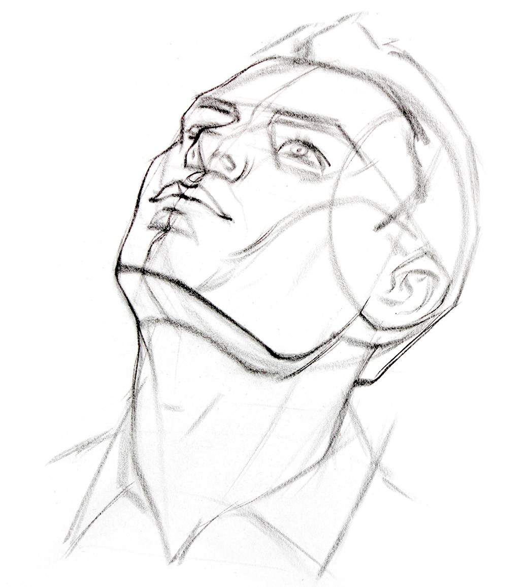 1046x1155 Aspiring Artists Now Can Learn Andrew Loomis Principles
