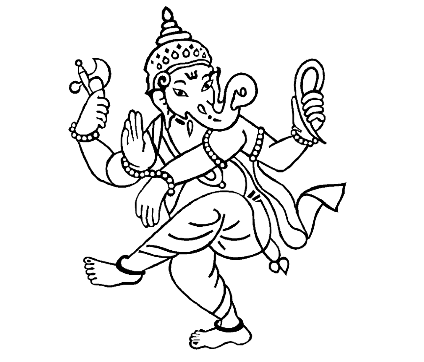 1434x1224 Drawing Of Lord Ganesha Hd Simple Drawing Of Lord Ganesha