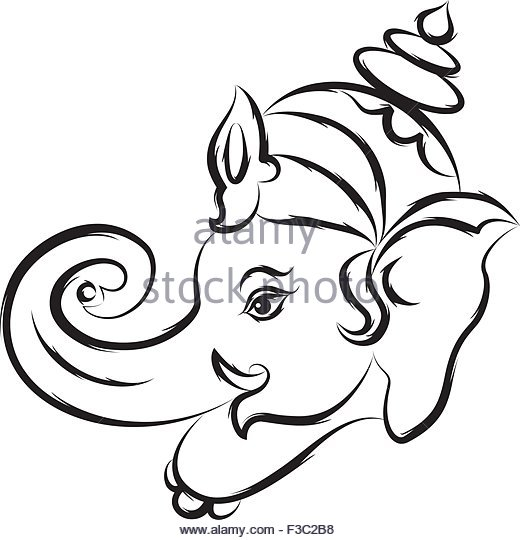 520x540 Lord Ganesh Art Cut Out Stock Images Amp Pictures