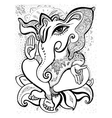 380x400 Best Images Of Lord Ganesha For Drawing Ganesh Drawing Cliparts