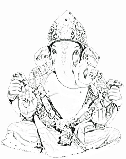 402x507 Stock Pictures Ganpati Or Ganesh Sketches