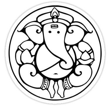 375x360 Ganesha Drawing Ganesha, Ganesh