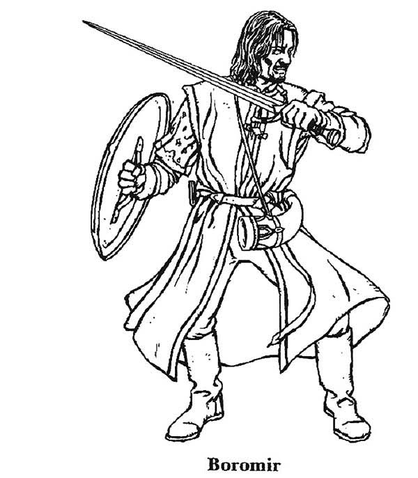 lord of the rings printable coloring pages - lord of the rings drawing at free for
