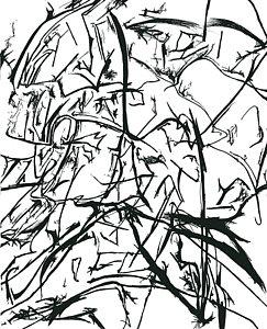 243x300 Los Angeles City Drawings Fine Art America
