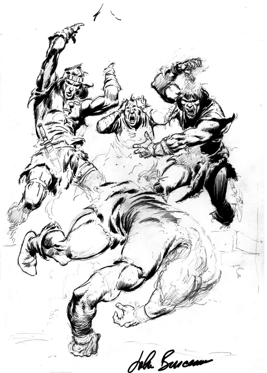 896x1250 Conan The Barbarian John Buscema The Lost Drawings . Click