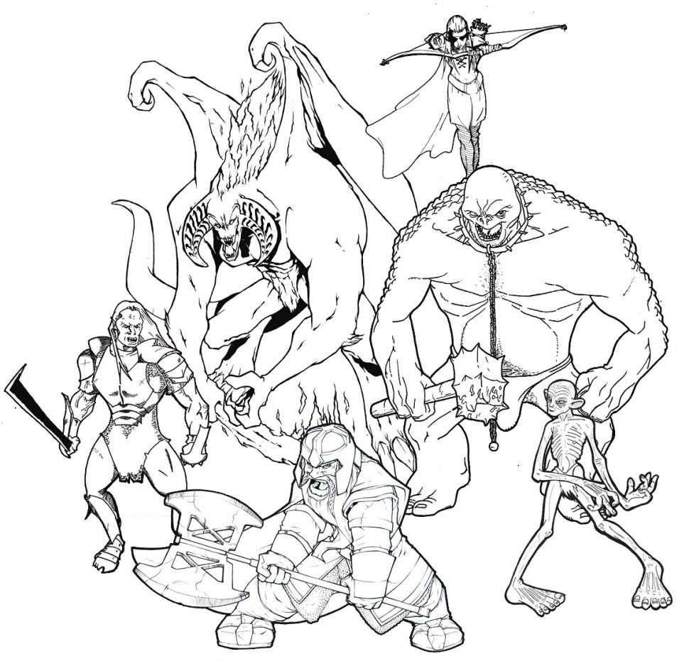 970x931 Coloring Pages Lord Rings Coloring Pages Lotr Lord