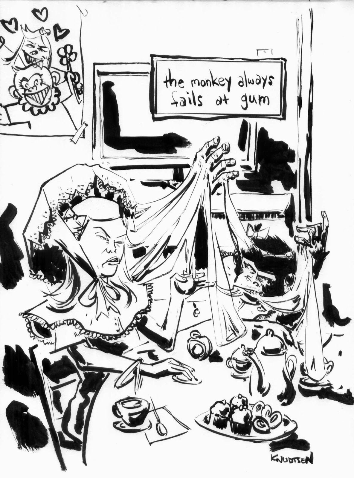 1184x1600 Sketch Lottery My Monkey's Name Is Jennifer Damn You, I'M