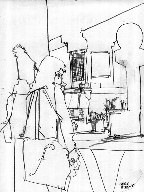480x640 Drawing On Location St Patrick'S, Central Park, And Grand Central
