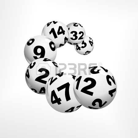 450x450 Floating Lottery Balls As Metaphor For Lottery Royalty Free
