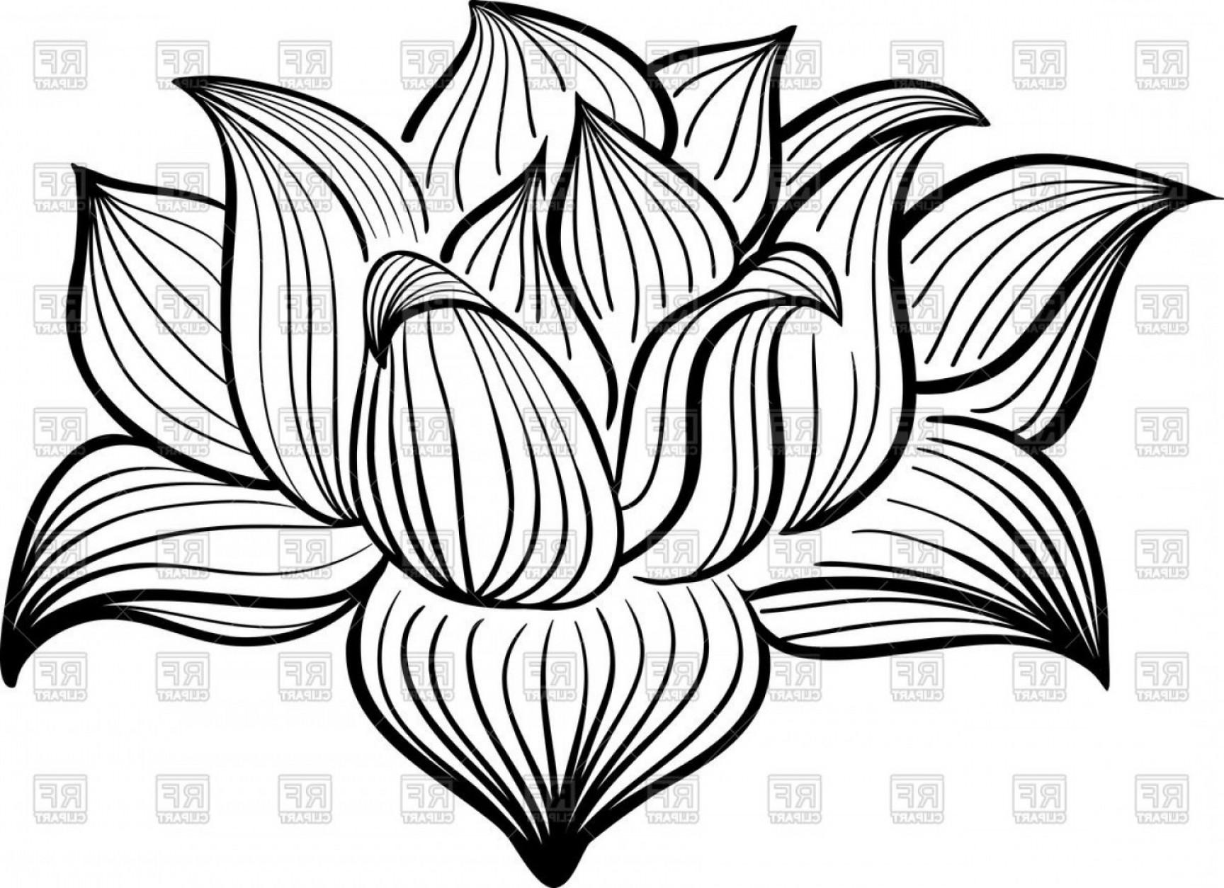 Lotus flower drawing outline at getdrawings free for personal 1728x1254 best free hd outline of lotus flower vector clipart graphic library izmirmasajfo