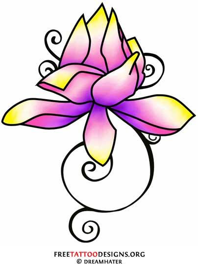 404x540 90 Lotus Flower Tattoos