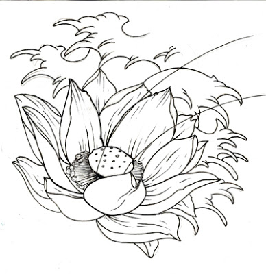 Lotus Flower Drawing Tattoo At Getdrawingscom Free For Personal