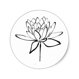324x324 Lotus Flower Drawing Gifts On Zazzle Uk