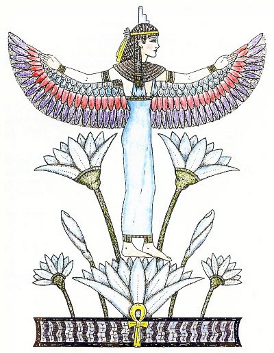 400x516 The Lotus In Ancient Egypt