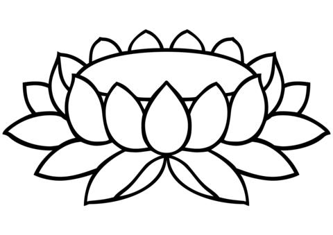 480x339 Lotus Padma Coloring Page Free Printable Coloring Pages