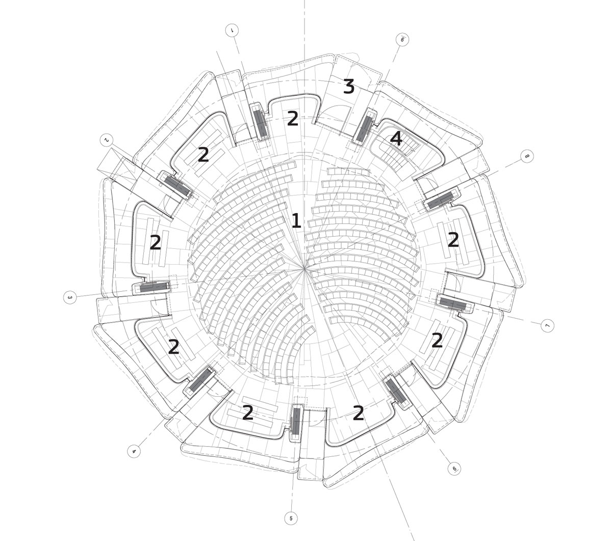 1200x1061 Hariri Pontarini Architects Bahai Center Of South America