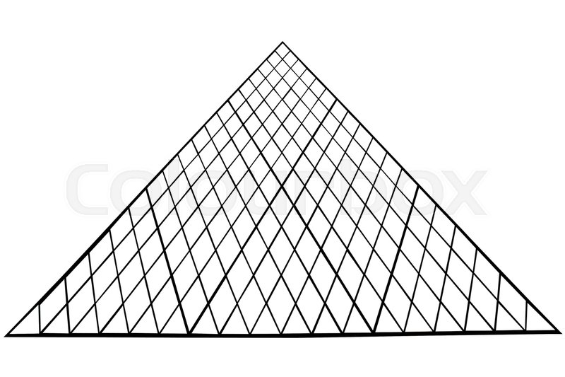 800x533 Louvre Museum Famous Pyramid, In Paris. French Cultural Picture