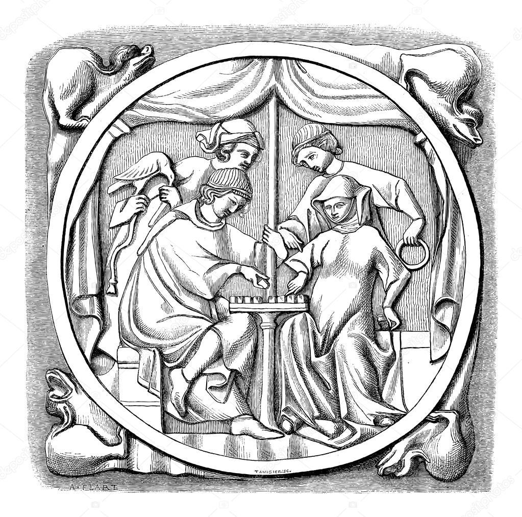 1023x1013 The Mirror Of Fifteenth Century Louvre Museum Paris France
