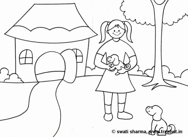 640x465 I Love Animals Coloring Pages