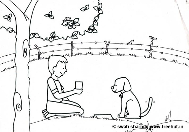 640x449 Love Animals Coloring Pages Cute Cartoon Animal Coloring Pages