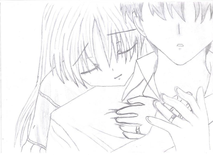 900x654 Anime Love By Necro133
