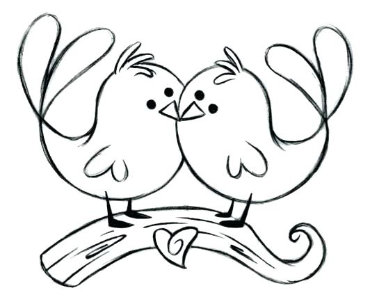 532x437 Love Bird Coloring Pages Art Of Coloring Page Love Birds By Love
