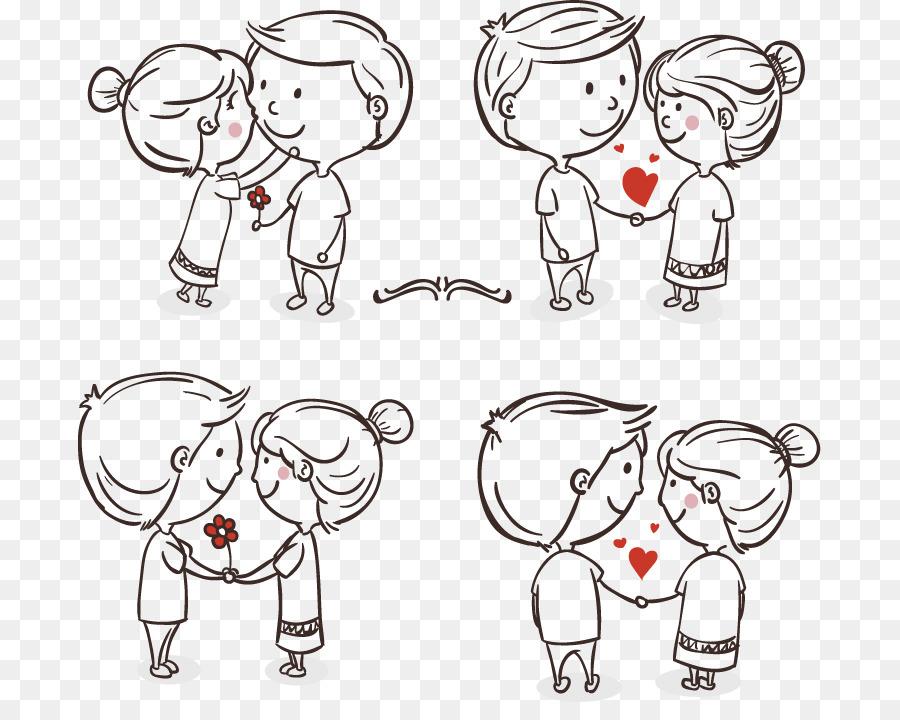 900x720 Drawing Romance Love Couple Cartoon