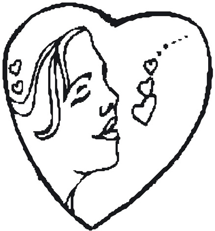 438x472 Love Heart Drawings, Cartoon Love Pictures Amp Love Images
