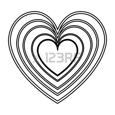 450x450 Purple Heart Drawing Love Valentine Royalty Free Cliparts, Vectors